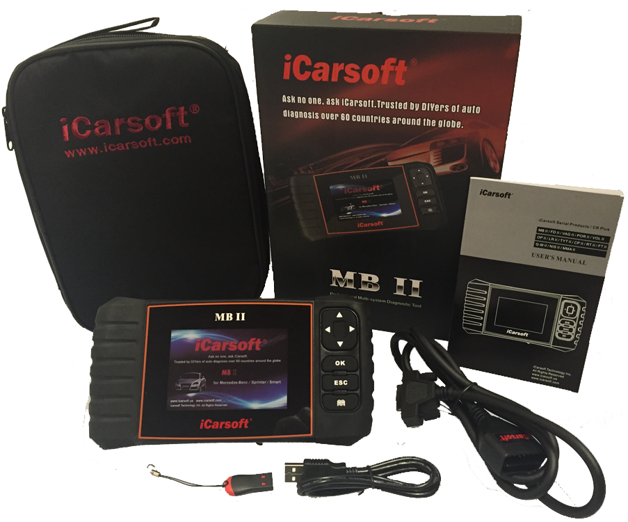 Mercedes benz icarsoft mbii new version engine diagnostic for Promo code for mercedes benz accessories