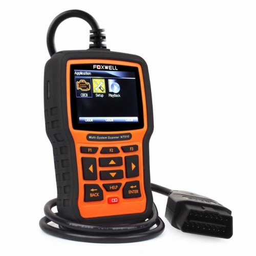 NT510 Multisystem Scanner for Jeep incl  maintenance reset