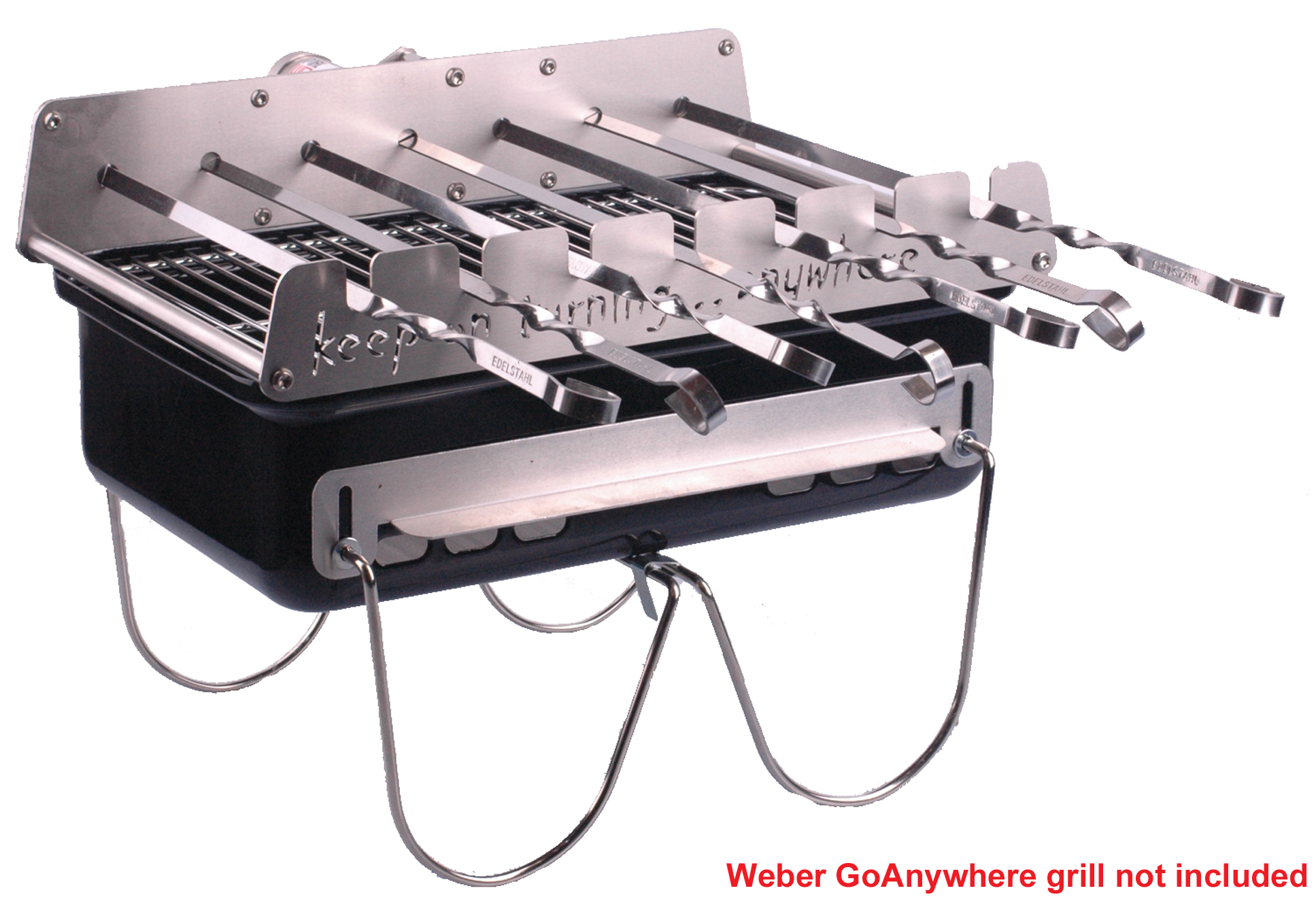 Go Anywhere Weber.Details About Rotisserie Add On Kit For Weber Go Anywhere Bbq Charcoal Grill Rotating Skewers