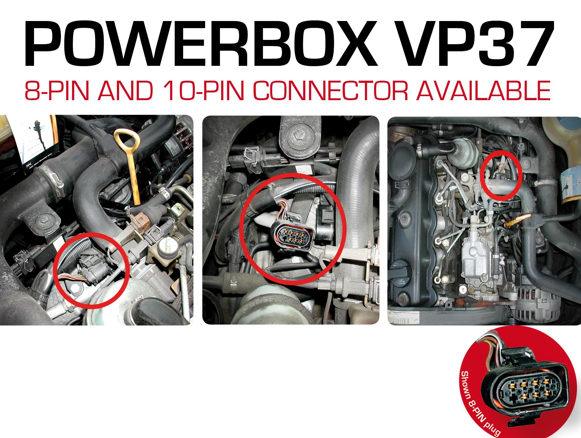 Power Box VP37 Diesel Performance Tuningchip for VW VOLKSWAGEN TDI